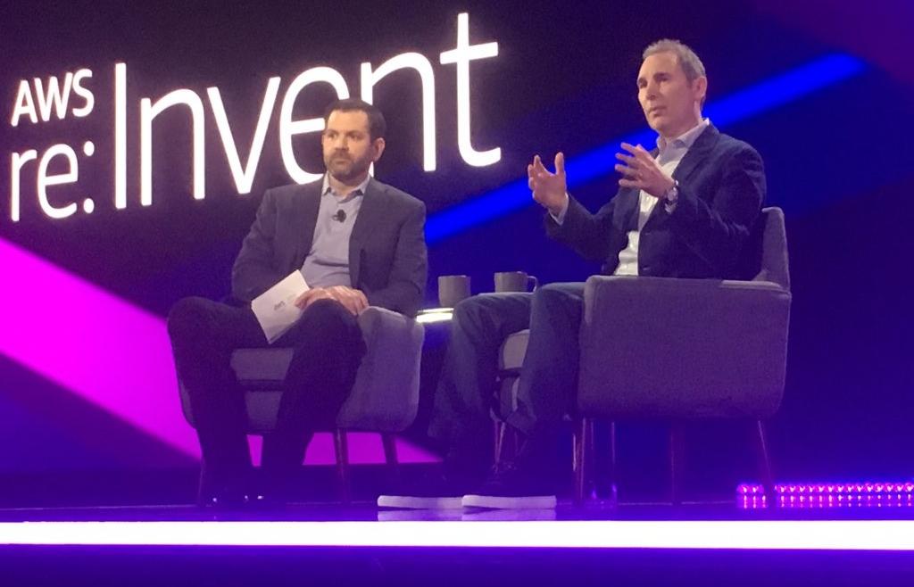 AWS re:Invent 2018 – Dia 02