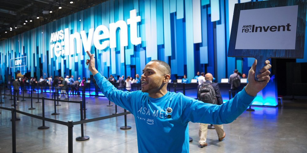 AWS re:Invent 2018 – Dia 01